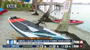 Annual Calusa Blueway Kayak Fishing Tournament raises money for Candlelighters of Southwest Florida [Video]