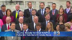 Trump Ready To End NAFTA, Pushes For New Trade Deal [Video]