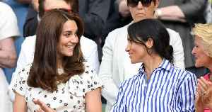 Kensington Palace Issues Rare Denial Over Kate Middleton and Meghan Markle Feud Rumors [Video]