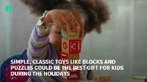 Blocks And Puzzles Favored Over High-Tech Toys [Video]