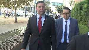 Trial Date Set for Congressman Duncan Hunter, Wife [Video]