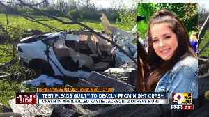 Teen driver admits guilt in fatal prom night crash [Video]