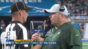 Packers fire head coach Mike McCarthy following loss to Cardinals [Video]