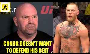 Conor McGregor will be strípped As soon as the first punçh is thrown in Khabib-Tony,UFC 222 W-ins [Video]