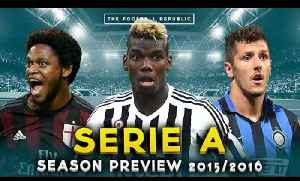 2015/16 SERIE A PREVIEW with Mina Rzouki, Squawka Dave & Rossoneri TV! [Video]