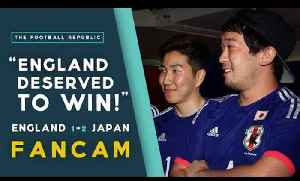 'ENGLAND DESERVED TO WIN!' | England 1-2 Japan FANCAM | 2015 FIFA WWC [Video]