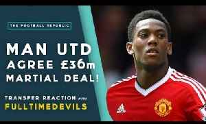 News video: MAN UTD AGREE £36M ANTHONY MARTIAL DEAL! | Transfer Reaction with FullTimeDEVILS