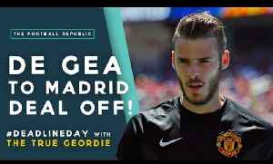 De Gea OFFICIALLY staying at Man Utd! | #DeadlineDay with The True Geordie! [Video]
