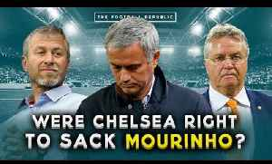 News video: Were Chelsea right to sack Jose Mourinho? | THE BIG DEBATE