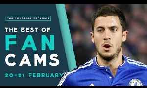 CHELSEA 5-1 MAN CITY, SPURS 0-1 PALACE , MALAGA 1-1 REAL MADRID | The Best of Fan Cams! [Video]