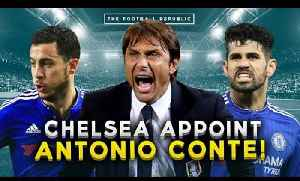 CHELSEA CONFIRM ANTONIO CONTE AS MANAGER! | REACTION with ChelseaFansChannel [Video]