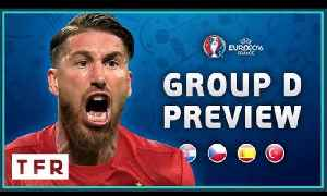 EURO 2016 Group D Preview! | Croatia, Czech Republic, Spain, Turkey! [Video]