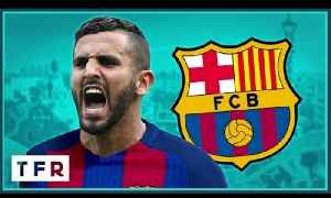 Riyad Mahrez to Barcelona for £40m?!   THE RUMOUR RATER [Video]