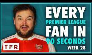 SANCHEZ ON THE BENCH? WHAT?! | EVERY PREMIER LEAGUE FAN IN 90 SECONDS [Video]