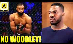 If I get an oppotunity to fight Tyron Woodley I'll KO Him,I'll welcome Jon Jones to HW-Blaydes [Video]