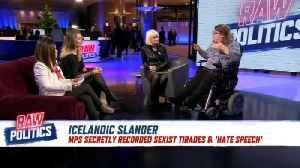 Raw Politics: Panel debates the sexism scandal that's shocked Iceland [Video]