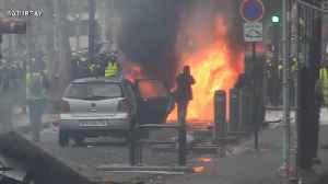 France suspends fuel tax increase after violent protests in Paris [Video]