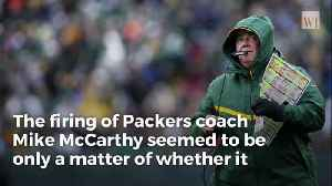 Packers Legend Slams 'Prima Donna' Aaron Rodgers After Coach McCarthy Abruptly Fired [Video]