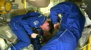 Soyuz spacecraft successfully docks at ISS [Video]