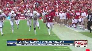 Kyler Murray named Heisman Trophy Finalist [Video]