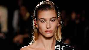 Hailey Baldwin Stuns Versace Runway At 1st Appearance on Catwalk Since Marrying Justin Bieber [Video]