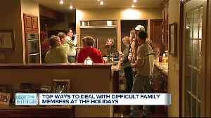 4 ways to deal with difficult family at the holidays [Video]