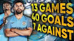 Should Manchester City Start Gabriel Jesus & Sergio Aguero As A Front Two?!   #UCLReview [Video]