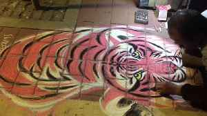 Chinese street artist draws crowds for his hyperreal pavement art [Video]
