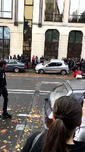 Cars Overturned in Orleans as Student Protests Continue for Second Day [Video]
