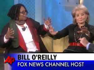 "Joy Behar walks off ""The View"" because of Bill O'Reilly remark [Video]"