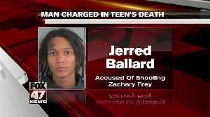 Man charged in teen's death [Video]