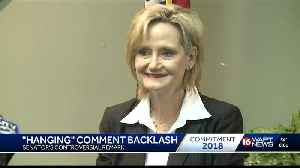 Hyde-Smith asked about 'public hanging' comment [Video]
