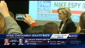 Hyde-Smith wins senate race [Video]