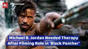 What Role Caused Michael B Jordan To Seek Therapy [Video]