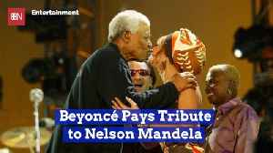 Beyonce Celebrates The Life And Her Love For Mandela [Video]