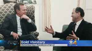 Former Colorado Legislator Fondly Remembers Time Spent With The Late President Bush [Video]