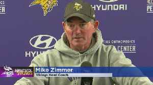Zimmer Aims To Work Out Kinks On Offense As Week 14 Approaches [Video]