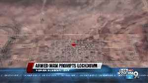 School lockdown lifted in Douglas after armed man spotted [Video]