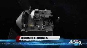 """""""We have arrived!"""" UA space probe reaches asteroid [Video]"""