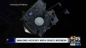 University of Arizona scientists leading NASA mission to asteroid [Video]