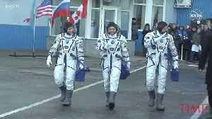 3 Astronauts Arrive Safely on International Space Station Following Previous Failed Launch [Video]