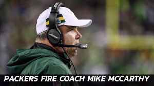Packers Coach Is Fired [Video]