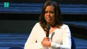 Michelle Launches New Book 'Becoming' At London's Southbank Centre [Video]