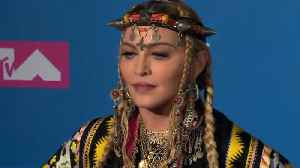 News video: Madonna takes issue with Lady Gaga quote