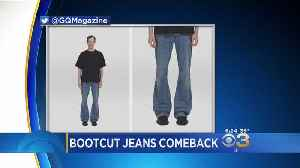Social Media Reacts To Comeback Of Bootcut Jeans [Video]