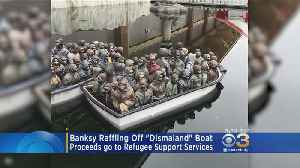 Banksy Raffles Off 'Dismaland' Boat To Benefit Refugee Support Services [Video]