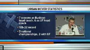 Ohio State football coach Urban Meyer to retire after the Rose Bowl [Video]