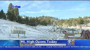 Mt. High In Wrightwood Opens This Morning [Video]