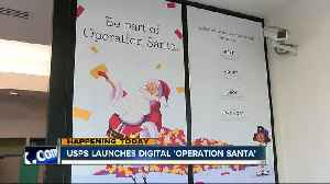 US Postal Service launches digital version of 'Operation Santa' [Video]