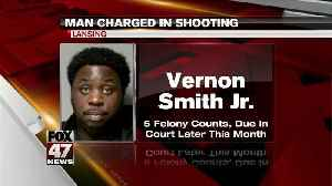 Man charged in Lansing drive-by shooting [Video]